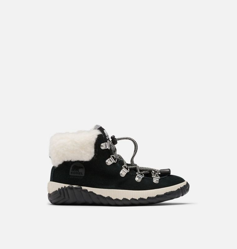 Booties Black - Sorel Kids Youth Out N About™ Conquest - 976-BKWGUF