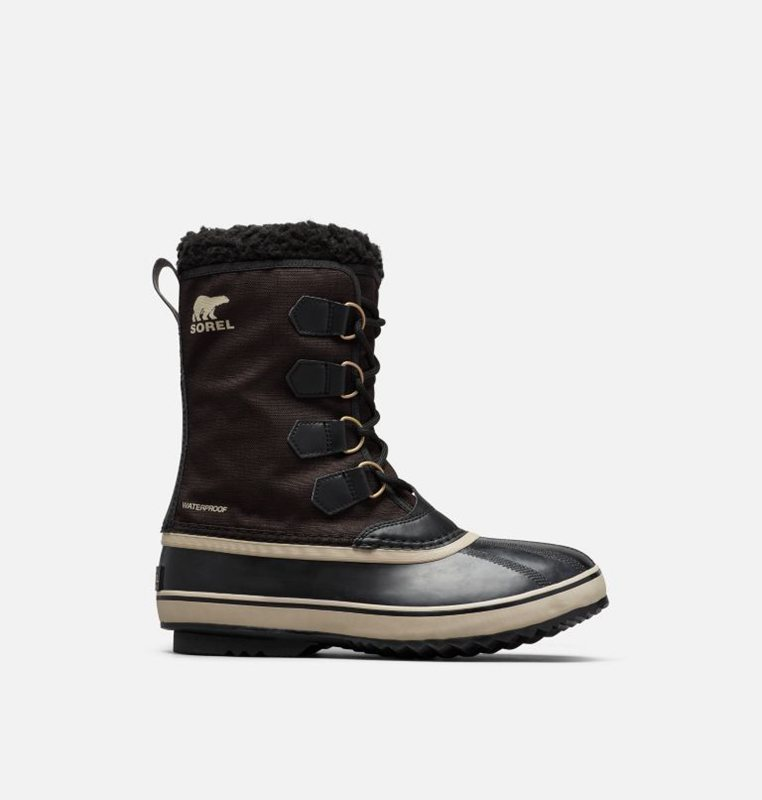 Snow Boots Black - Sorel Mens 1964 Pac™ Nylon - 925-JFBQMT