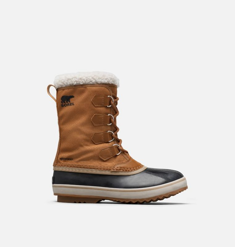 Snow Boots Brown/Black - Sorel Mens 1964 Pac™ Nylon - 367-JNYVAF