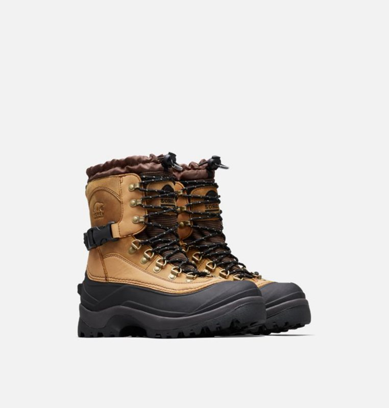 Snow Boots Brown/Black - Sorel Mens Conquest™ - 846-CHIEOT